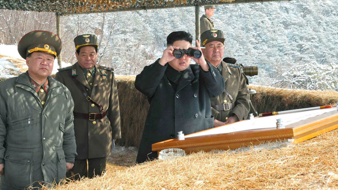 North Korea orders rockets on standby to hit US bases
