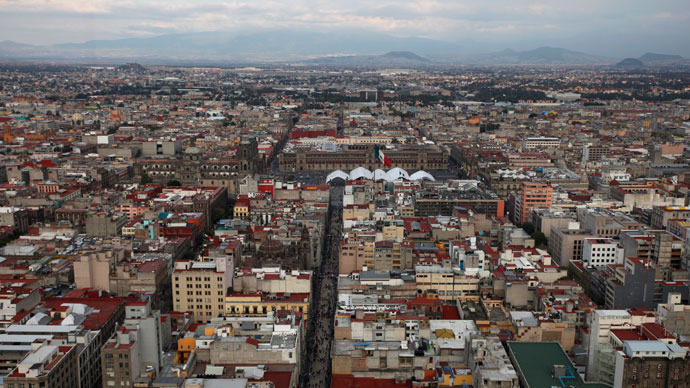 Thousands flee into streets after 5.5 magnitude earthquake hits Mexico