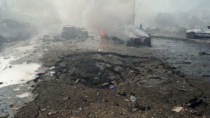 Car bomb explodes near Damascus – Syrian TV
