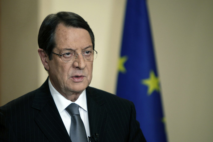 Cypriot President Nicos Anastasiades (AFP Photo)