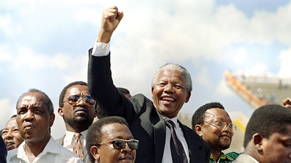 Nelson Mandela 'received weapons training' from Mossad – report