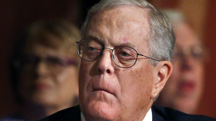 Koch Block: Alleged Anonymous hacker charged with shutting down billionaires' website
