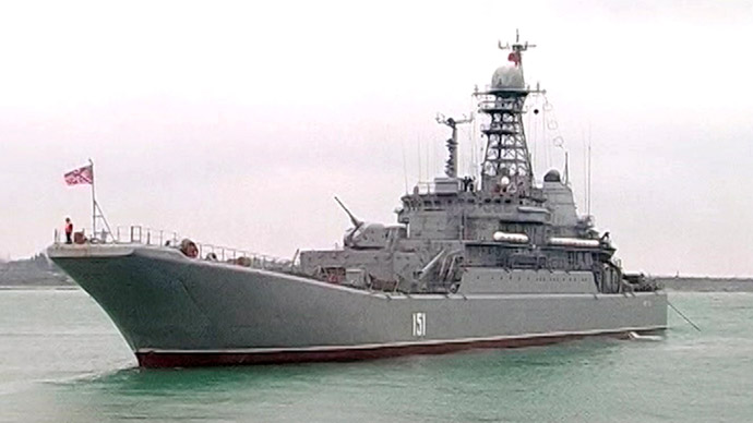 Russian warships enter Mediterranean to form permanent task force