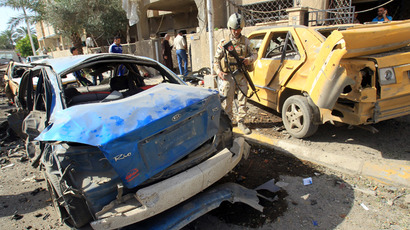 25 dead, over 60 wounded in suicide bomb attack at Iraq political rally