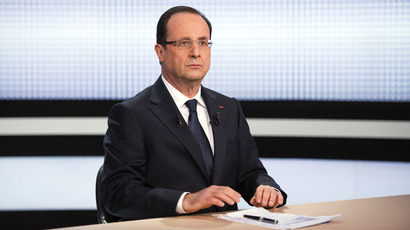 Hollande most unpopular French president in decades - poll