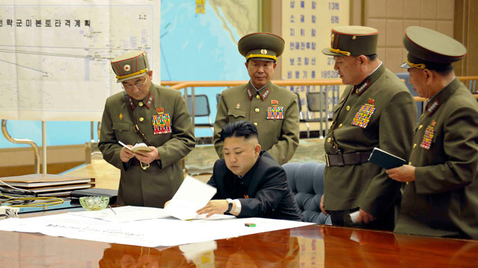North Korea declares 'state of war' with South