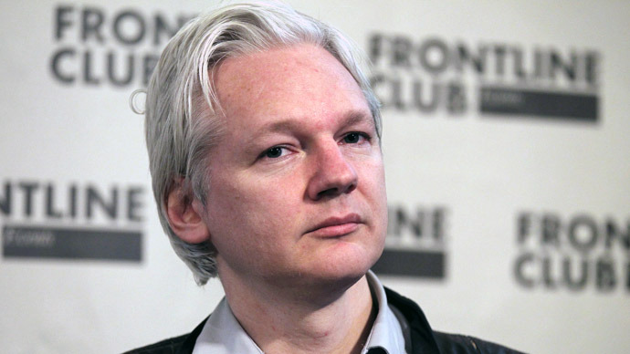 Wikileaks founder Julian Assange (Reuters/Finbarr O'Reilly)