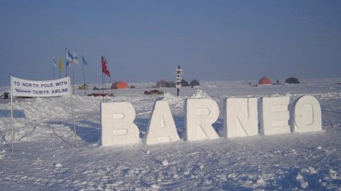 """Borneo"" polar station (RIA Novosti)"