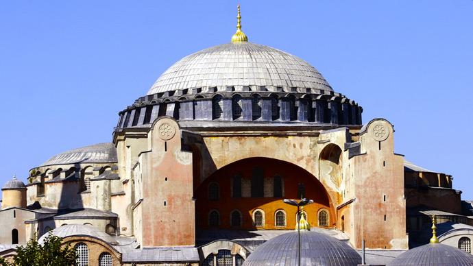 Hagia Sophia (AFP Photo / Bulent Kilic)