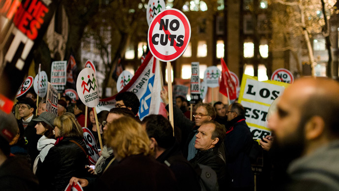 UK govt imposes avalanche of cuts, reforms