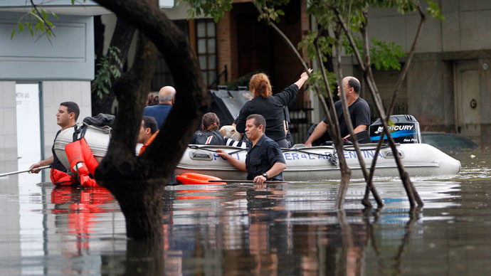 Central Europe on high alert amid worst-in-decade flooding (PHOTOS)