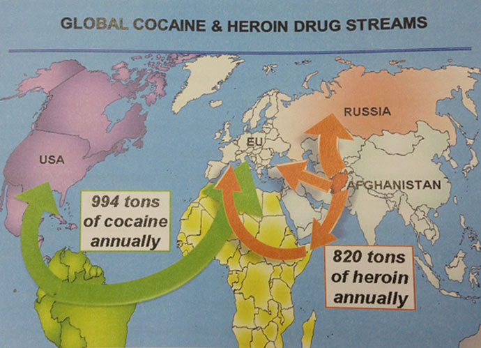 Image from Viktor Ivanov's presentation to UN's 56th session of the Commission on Narcotic Drugs in Vienna (March 2013)