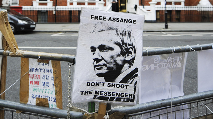 'Not a crime to make known crime of a state': Senior Swedish judge backs Assange