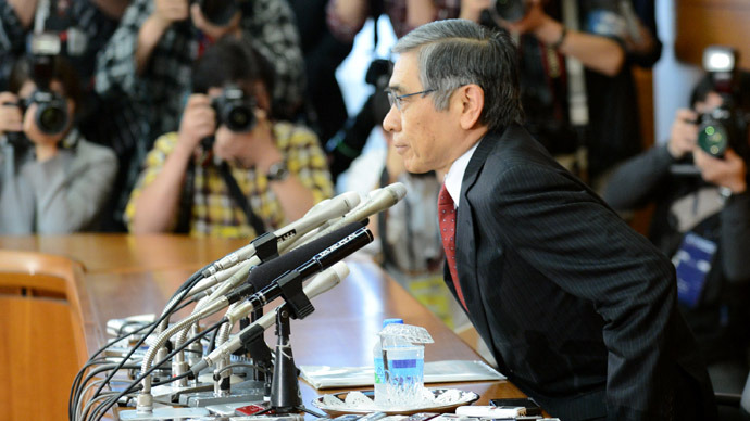 Bank of Japan $520bn kickstart to economy