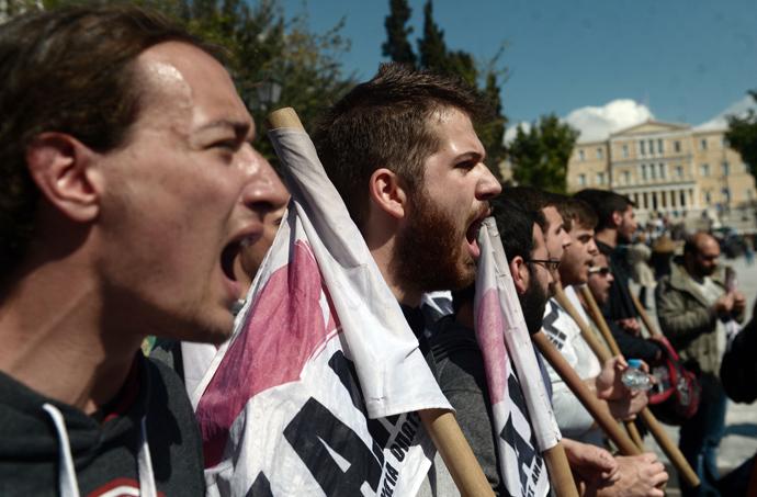 AFP Photo / Aris Messinis