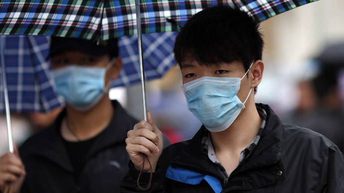 China bird flu sends Europe, Asia stocks down