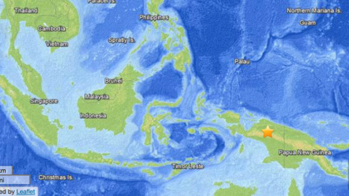 Panic in eastern Indonesia as powerful earthquake strikes