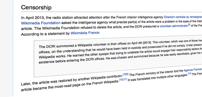 A screenshot from wikipedia.org