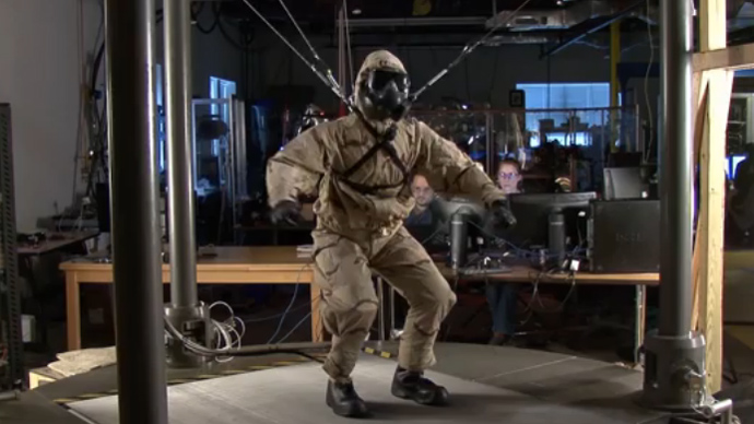 US Navy tests power-free industrial exoskeletons