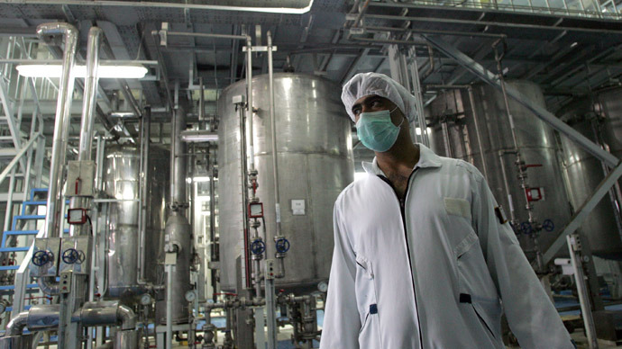 Iran boosts uranium production – state TV