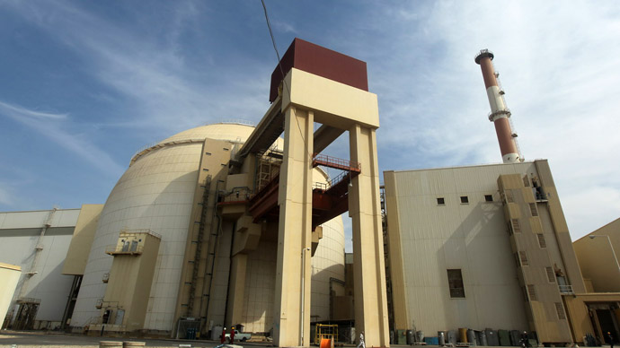 A picture shows the reactor building at the Russian-built Bushehr nuclear power plant in southern Iran (AFP Photo)