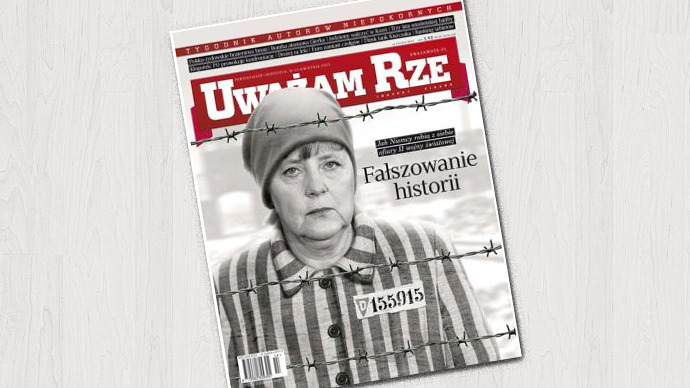 The cover that caused controversy (Image from uwazamrze.pl)