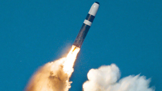 A Trident II, or D-5 missile (Reuters)