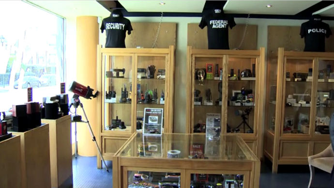 There are whole shops in the UK dedicated to the sale of equipment utilized by private investigators