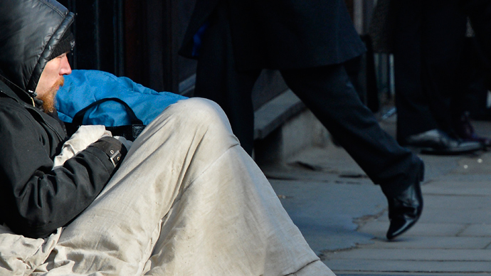 Homelessness rife in UK: Research shows millions are paycheck away from losing home