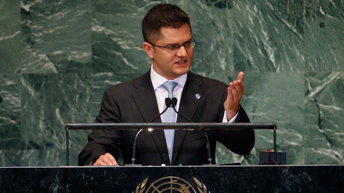 UN war crimes debate emphasizes rifts as US boycotts meeting