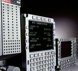 FMZ-2000 Flight Management System (Photo from honeywell.com)