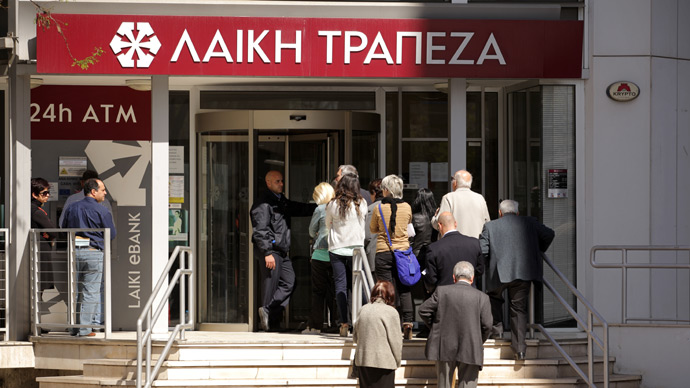 Russian depositors begin seizing property of Cypriot banks