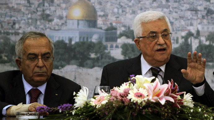 Palestinian President Abbas accepts PM Fayyad's resignation