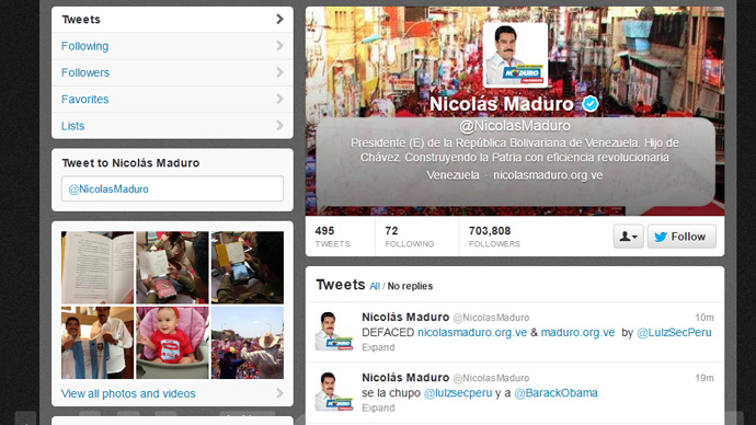 image from @NicolasMaduro