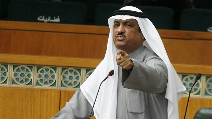 Kuwaiti opposition leader jailed for 5 years for criticizing emir - lawyer