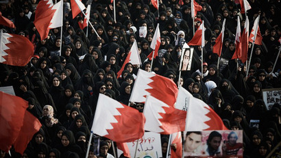 'Race for blood': Police clash with protesters ahead of Bahrain Grand Prix