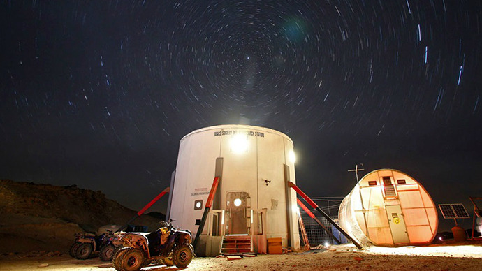 Russians to simulate Mars colonization in US desert