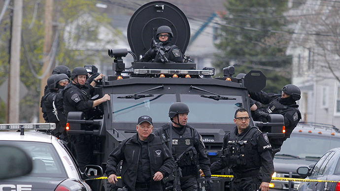 Gunfire, explosions in Watertown linked to Boston bombing