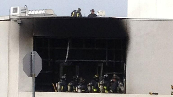 No conclusive evidence linking Boston JFK Library fire to Marathon blasts