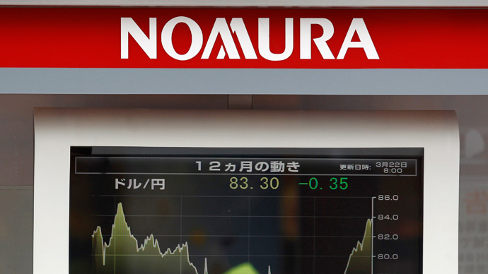 $2.3bn belonging to Japan's Nomura frozen by Italy as part of fraud investigation
