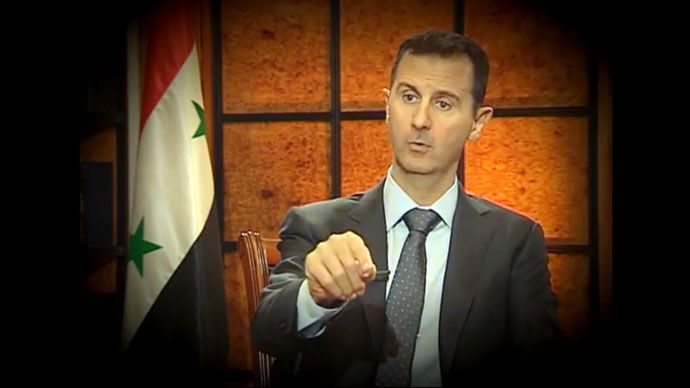 West will pay for 'supporting Al Qaeda' - Assad