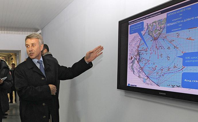 Leonid Mikhelson (RIA Novosti / Aleksey Nikolskyi)