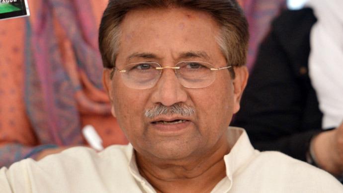 Former Pakistani president Pervez Musharraf (AFP Photo)