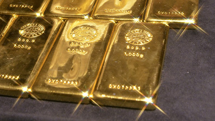 Central banks bought record amount of gold before collapse