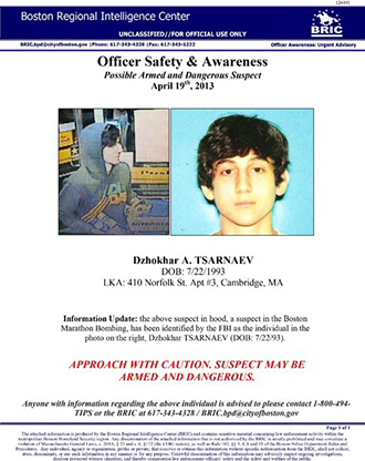 Boston bombing suspects identified as Tsarnaev brothers from Russia, near Chechnya 07088a2a2a6c7b0d2f0f6a7067009be9
