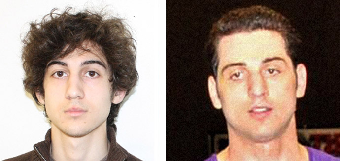 Tsarnaev brothers (FBI/AFP Photo)
