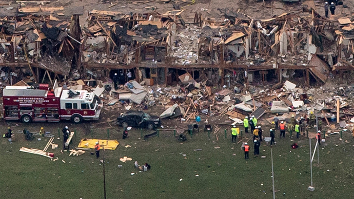 Texas fertilizer plant flew under Dept. Homeland Security radar