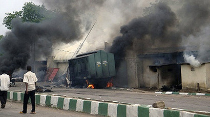 71 people killed, 124 wounded in Nigeria bus station blasts - police