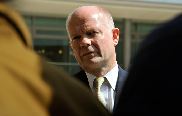 William Hague (AFP Photo / Georges Gobet)