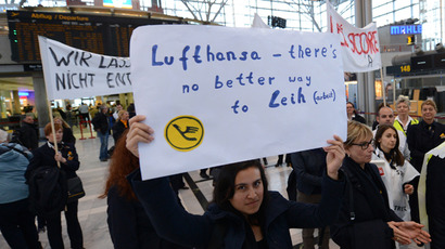 Lufthansa pulls plug on name change contest after Swedish deluge of volunteers